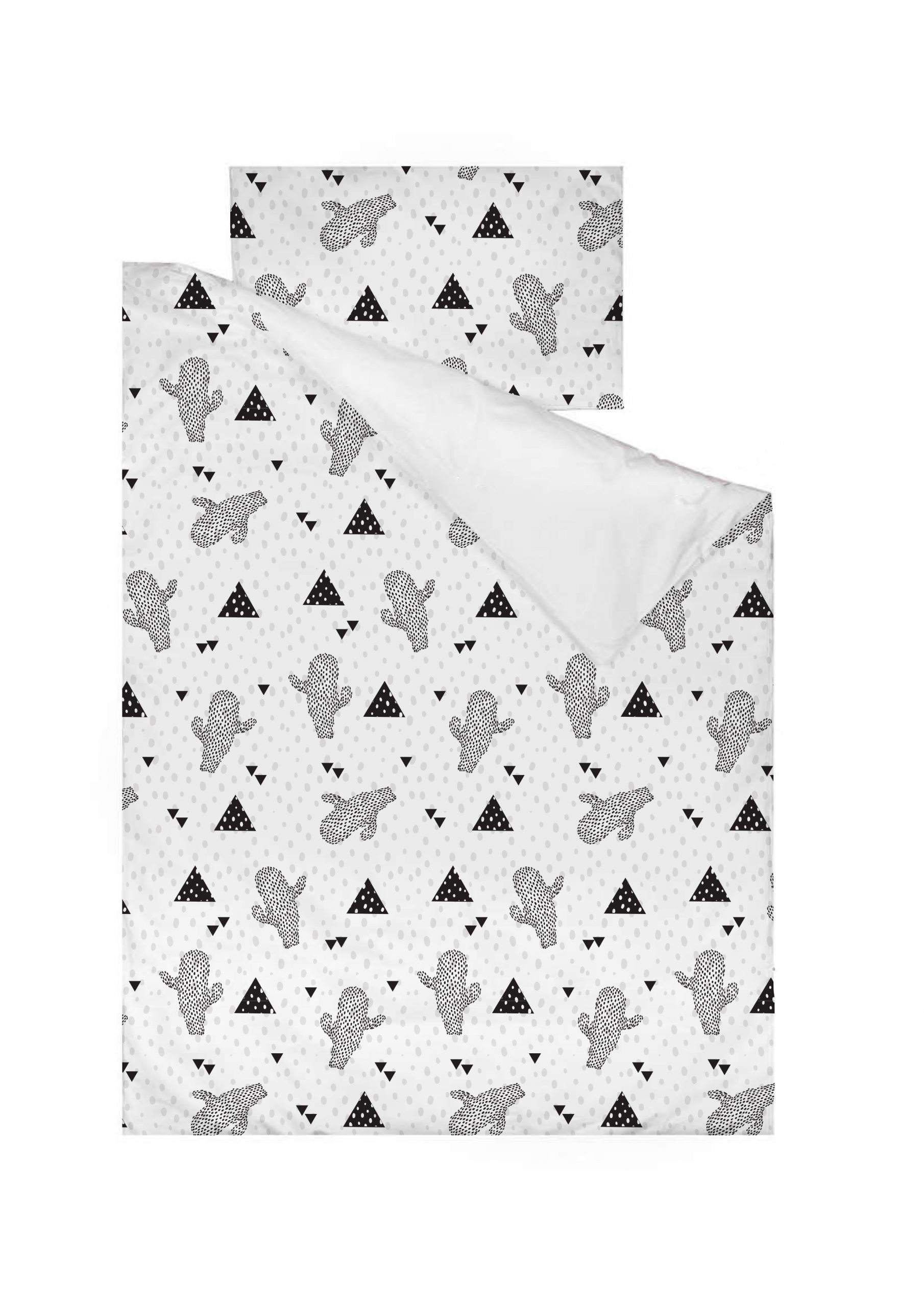 Cactus Cot Duvet Cover and Pillow Case