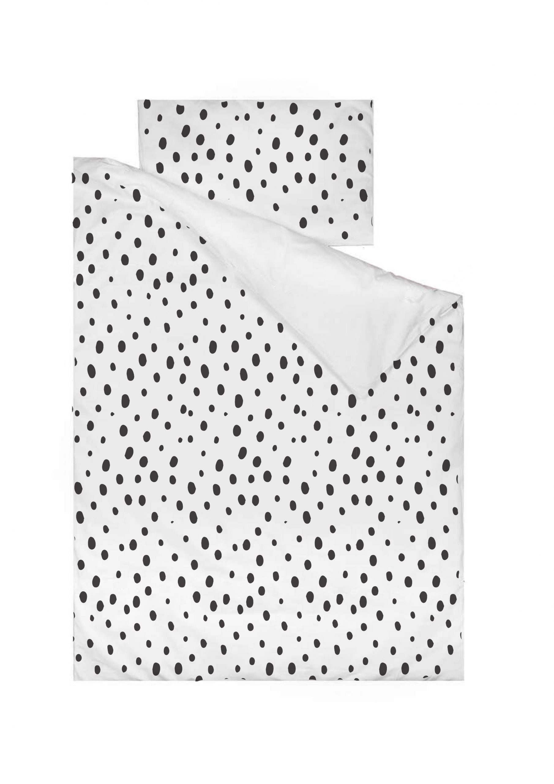 Spotty Cot Duvet Cover and Cot Pillow Case