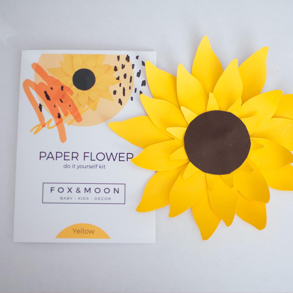 Paper Sunflower Kit