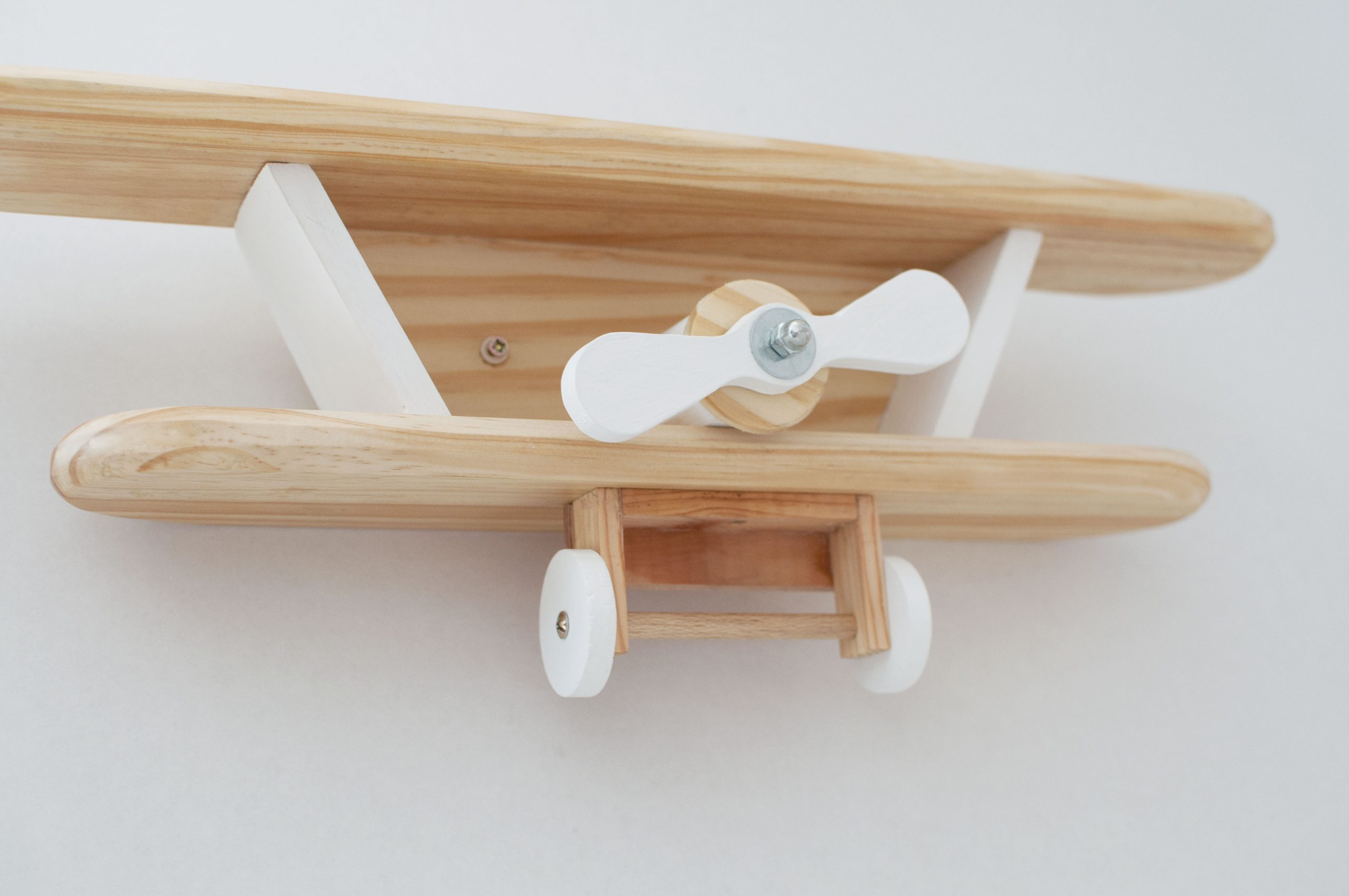 Wooden Plane Wall Decoration