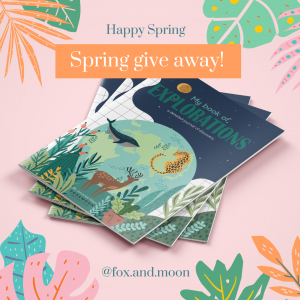 Fox & Moon - Happy Sprint Giveaway