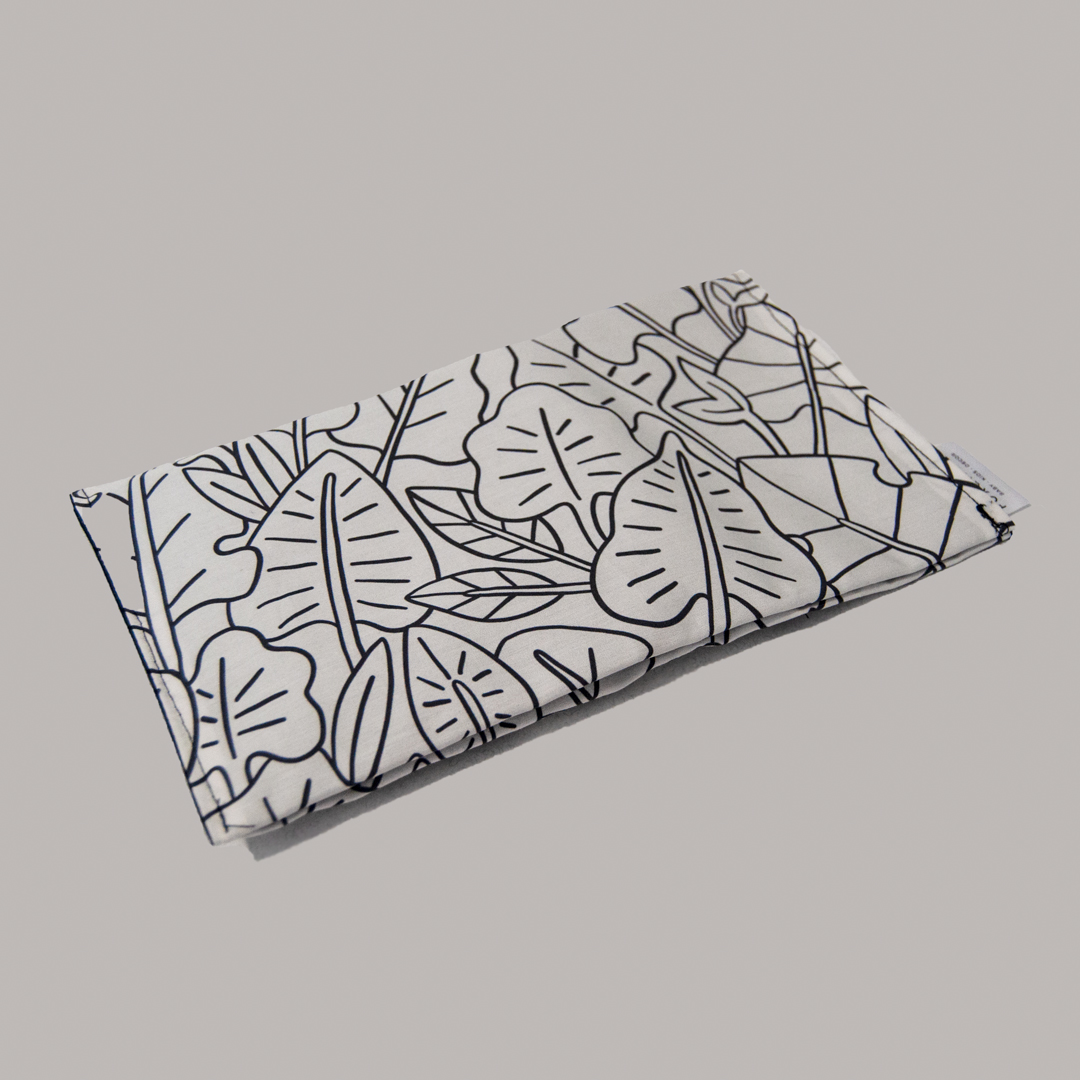 Travel Nappy Wallet - Leaves