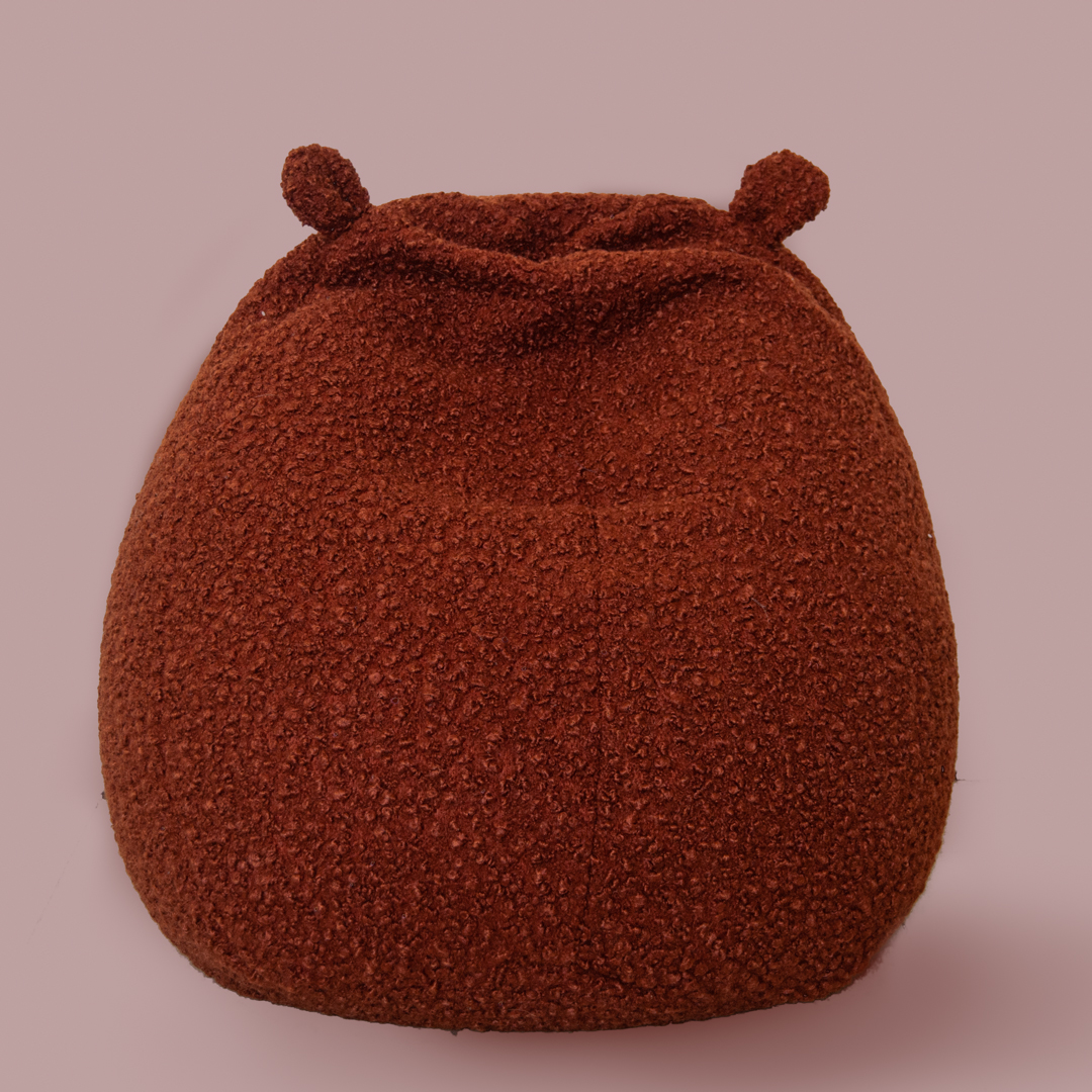 Bear Bean Bag - Rust