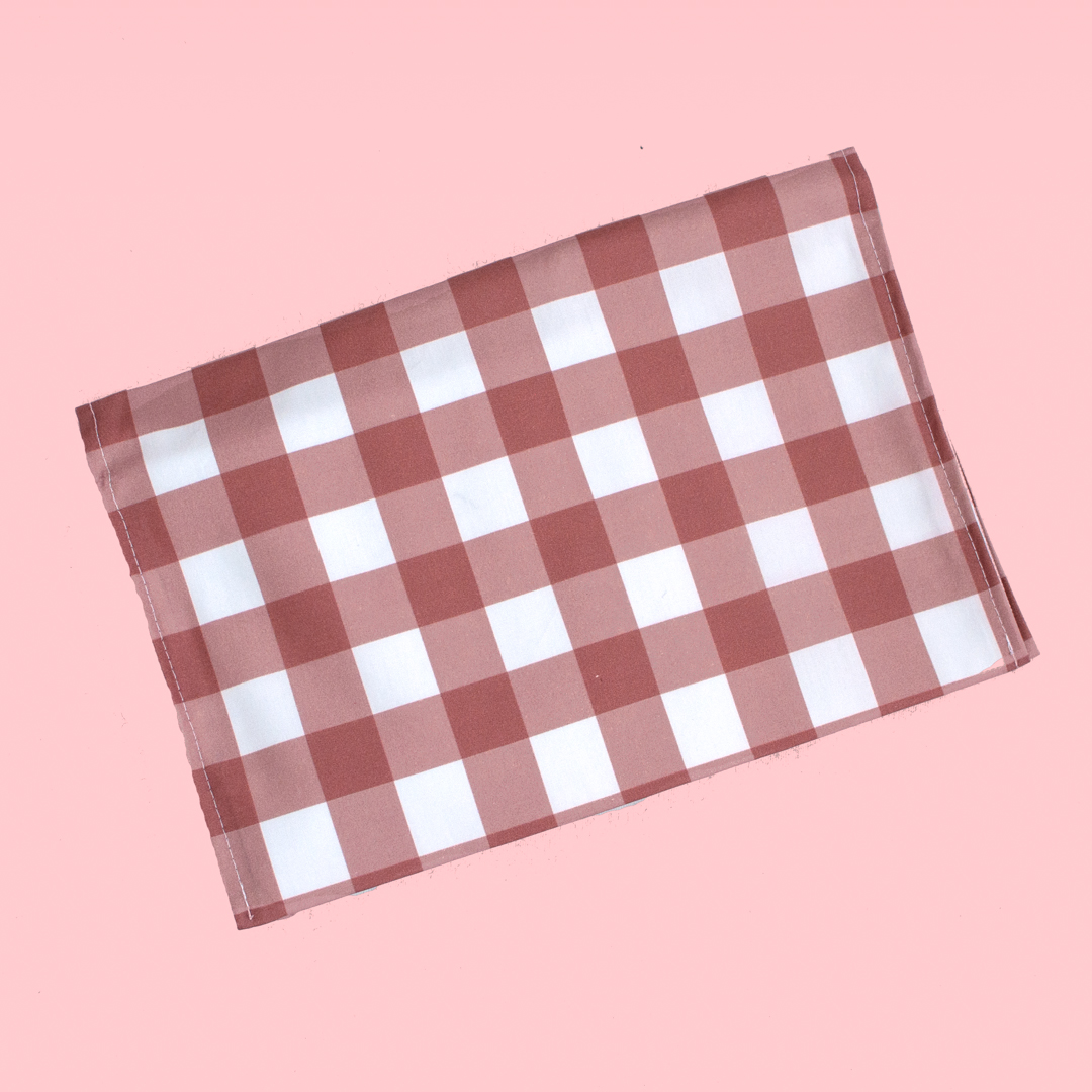 Plaid Travel Nappy Wallet