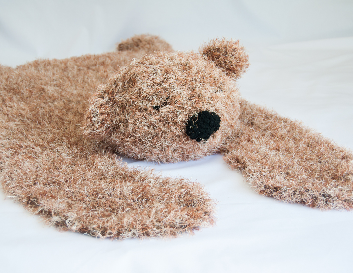 Barry the Bear Rug - Brown